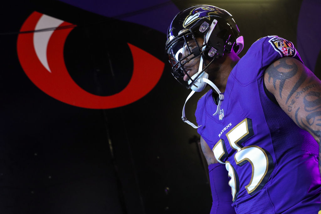 Terrell Suggs would love to run out of the Baltimore Ravens' locker room again