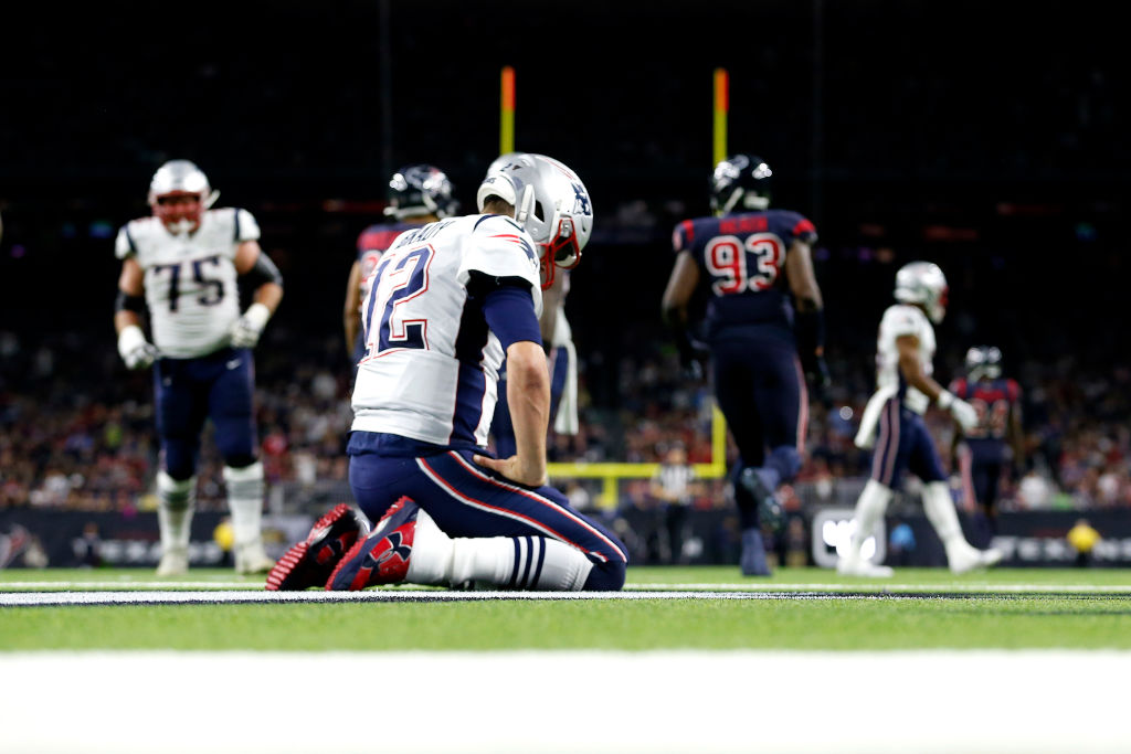 Tom Brady's frustration in himself and this offense is piling up