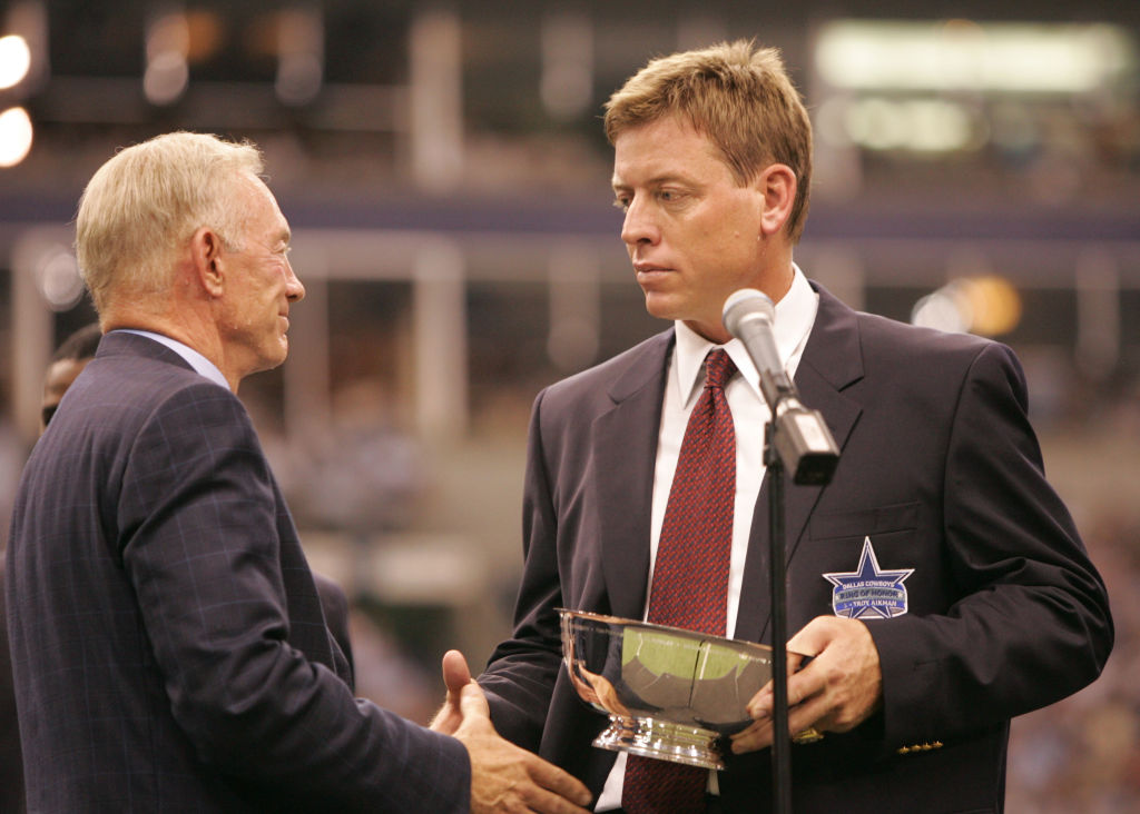 Troy Aikman is a Dallas Cowboys' legend, but he doesn't hesitate to fire away at owner-GM Jerry Jones.