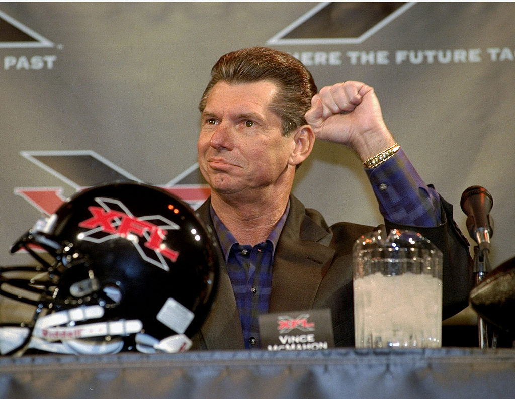 The level of play won't be the same, but the XFL is just like the NFL in one way.