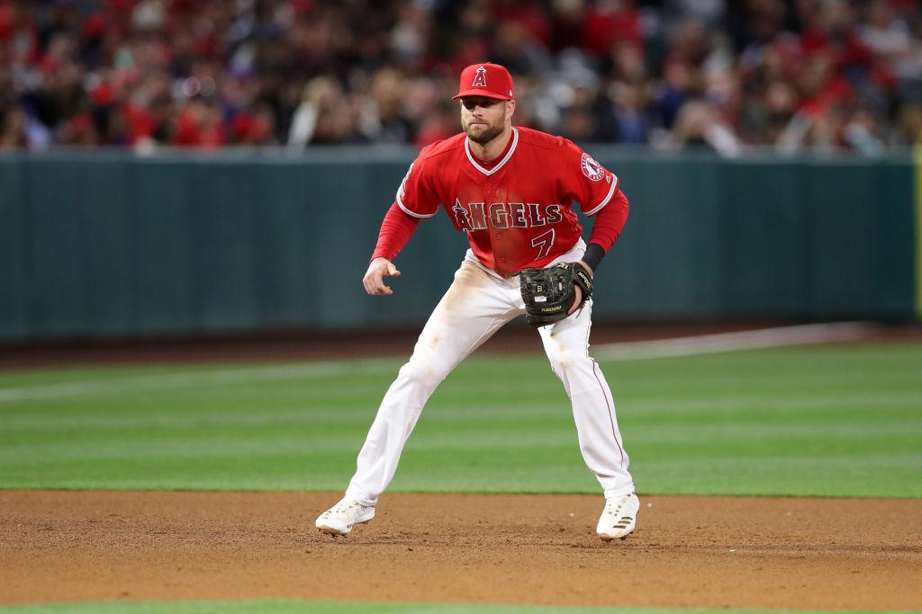 Giants third baseman Zack Cozart