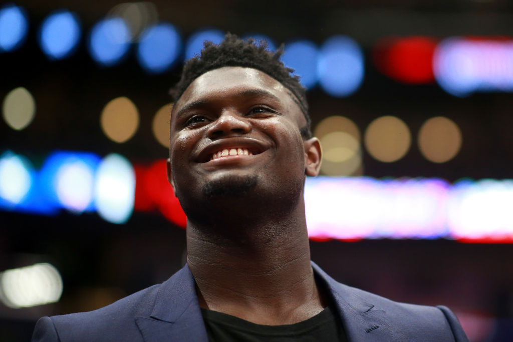 The New Orleans Pelicans finally got some good news about Zion Williamson's knee injury.