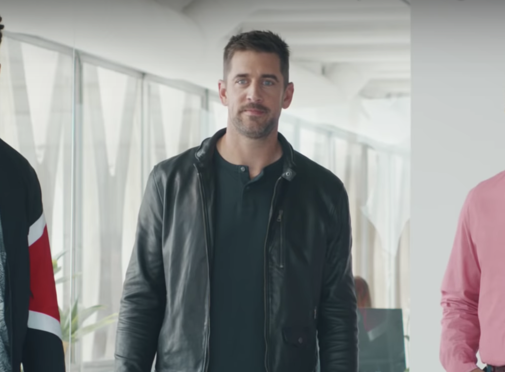 NFL quarterback Aaron Rodgers stars in series of State Farm Insurance commercials