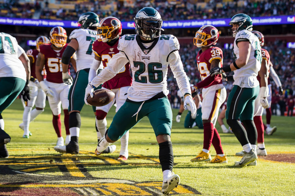 The Eagles' season might not have been impressive, but running back Miles Sanders could still win NFL Offensive Rookie of the Year.