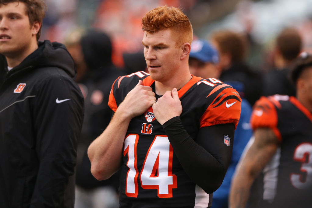 Bengals fans didn't have much to cheer for in 2019, and the one thing they did get excited about upset QB Andy Dalton.