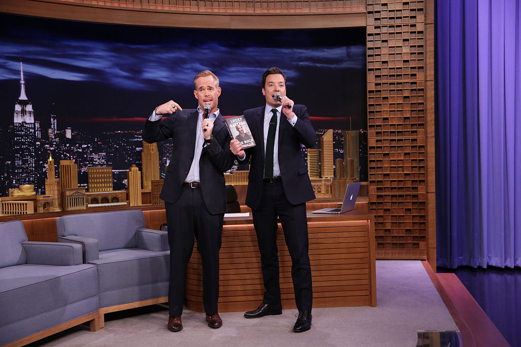 Announcer Joe Buck appears on The Tonight Show with Jimmy Fallon