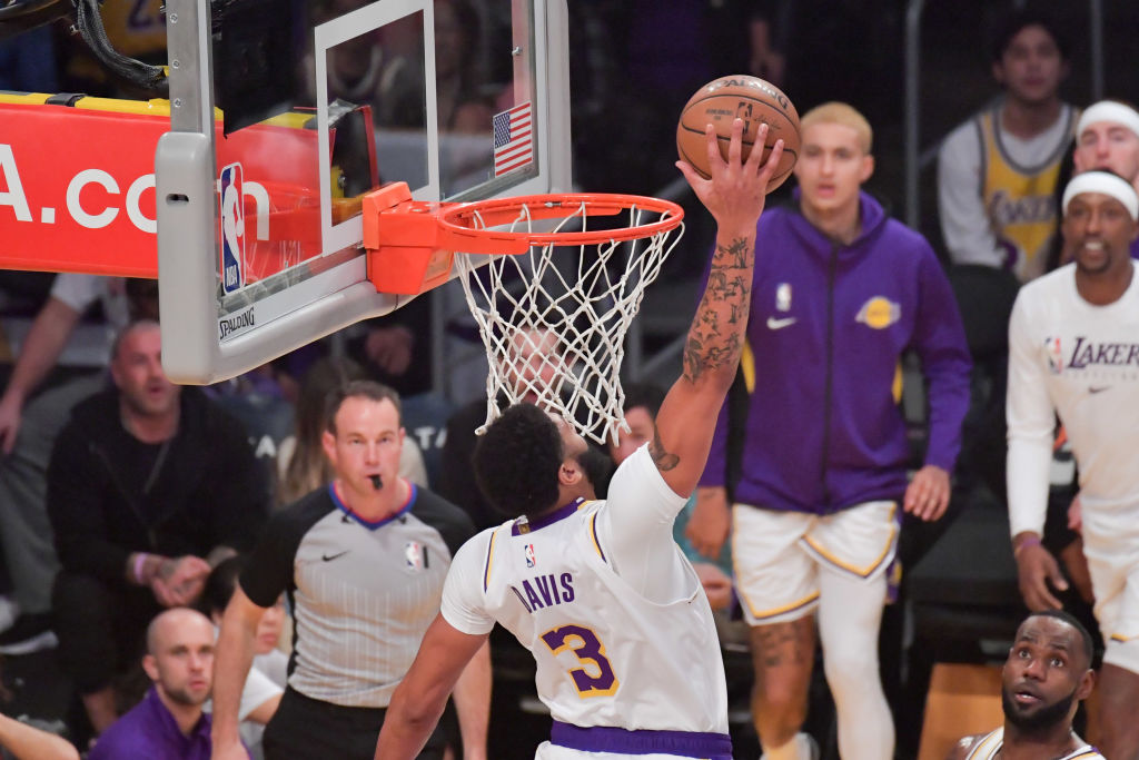 Los Angeles Lakers big man Anthony Davis won't take part in the Slam Dunk Contest.