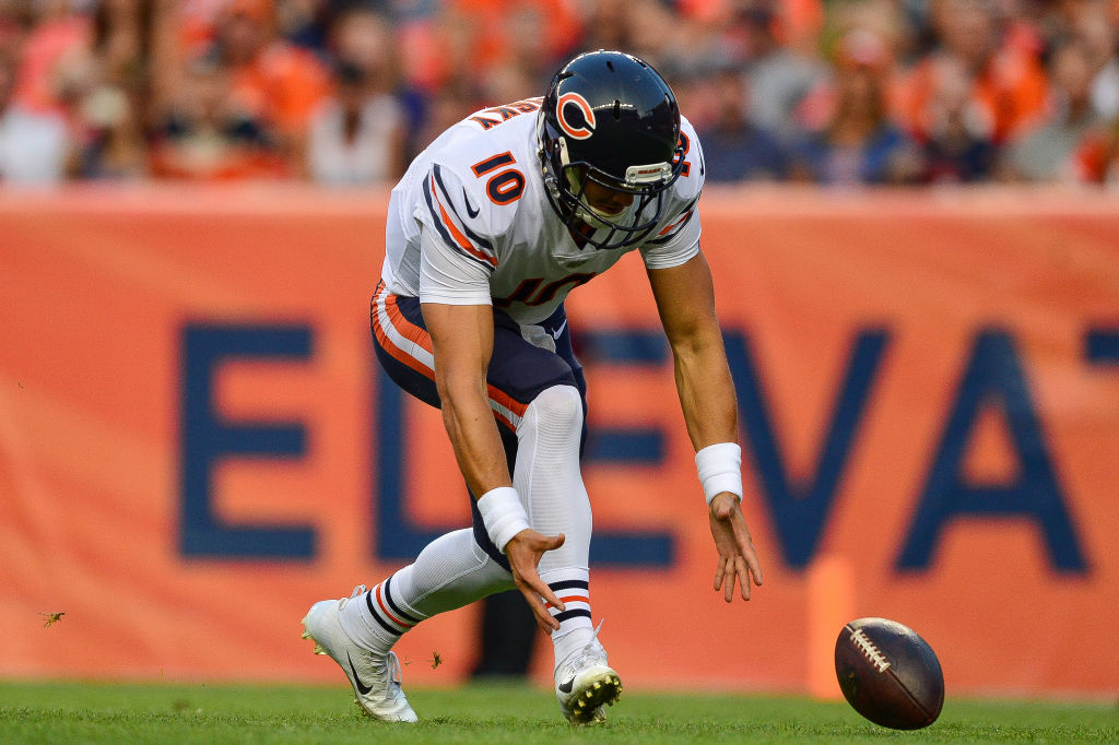 Mitchell Trubisky's performance -- and the 2019 playoff field -- is proof the Chicago Bears stink at judging quarterback talent.