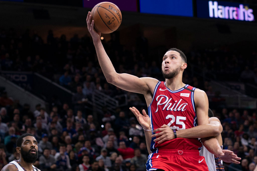 Ben Simmons rarely shoots 3-pointers for the 76ers, but that's not just because his long-range stroke is a work in progress.