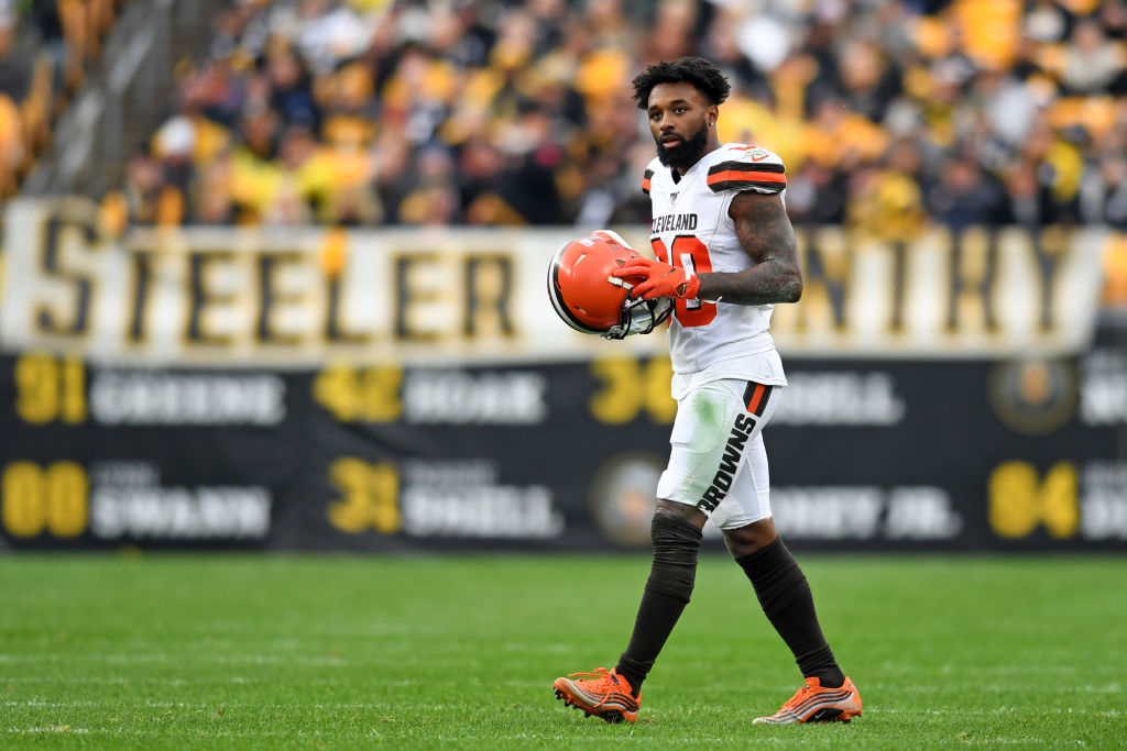 Browns receiver Jarvis Landry had a lackluster season (for him) based on some of the stats. Now we have an explanation for why.
