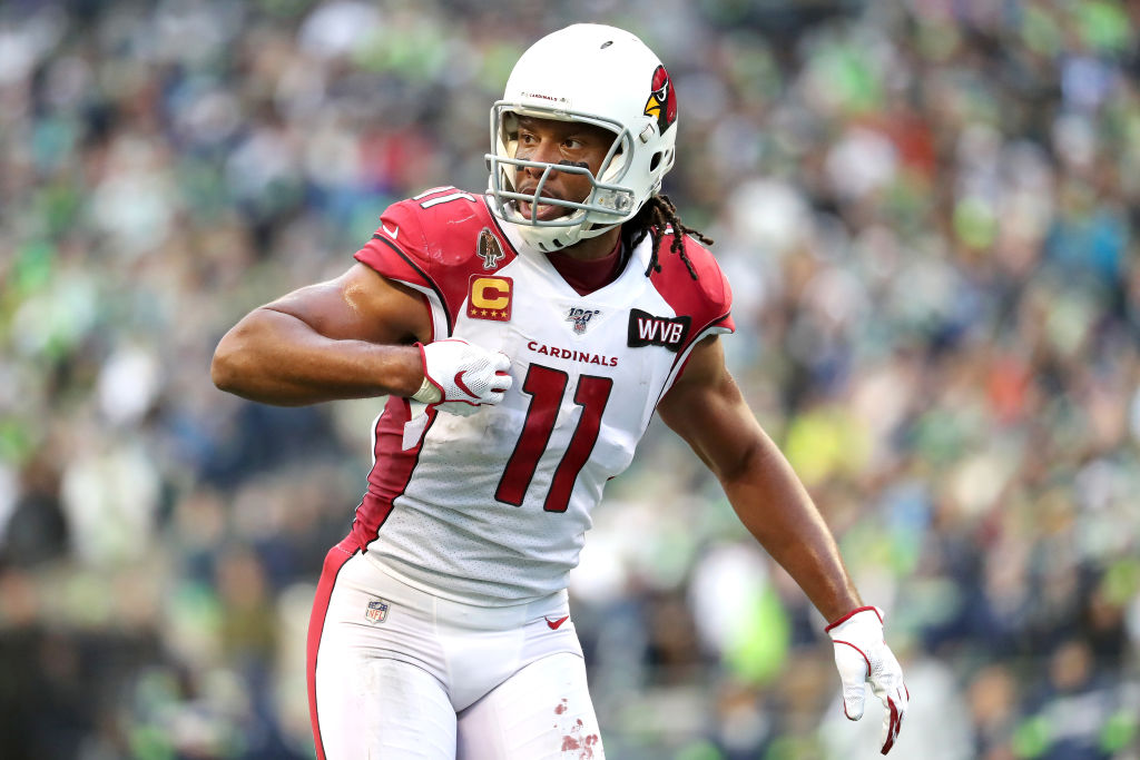 Cardinals wide receiver Larry FItzgerald