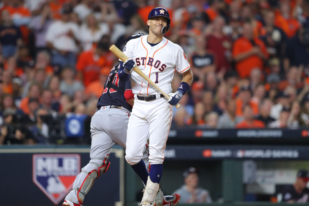 Amid the Astros' cheating scandal, Carlos Correa took a moment to address Mike Fiers' allegations.