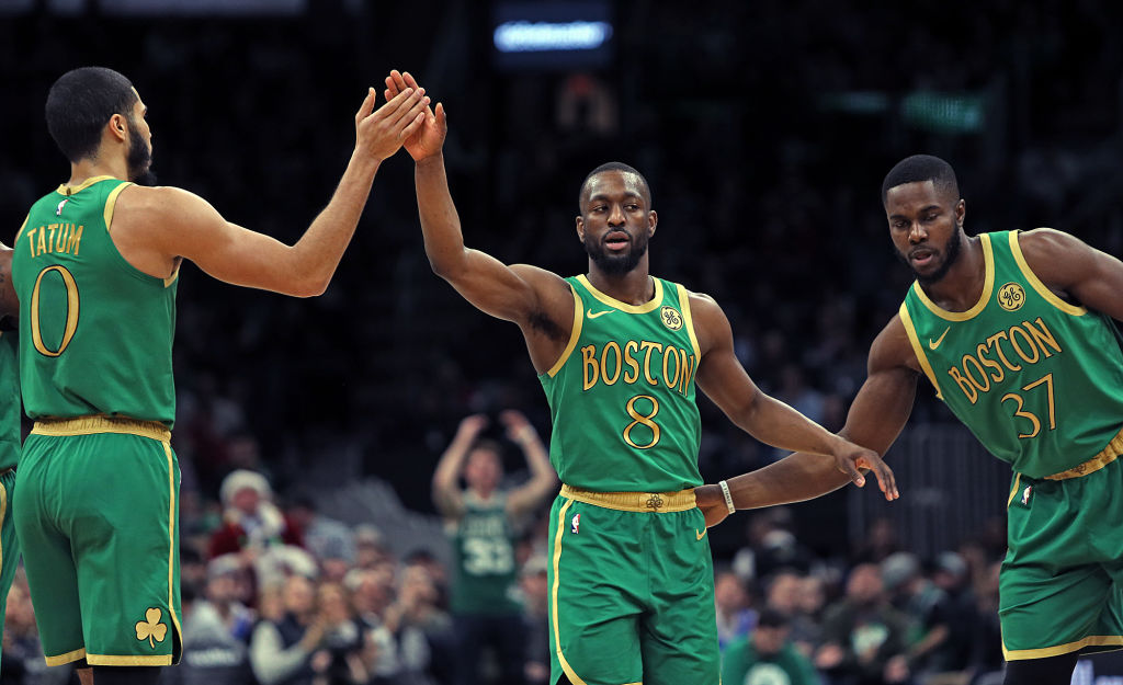 Some NBA teams have dynamic duos or fabulous foursomes, but the Celtics might be the only team with a big three.
