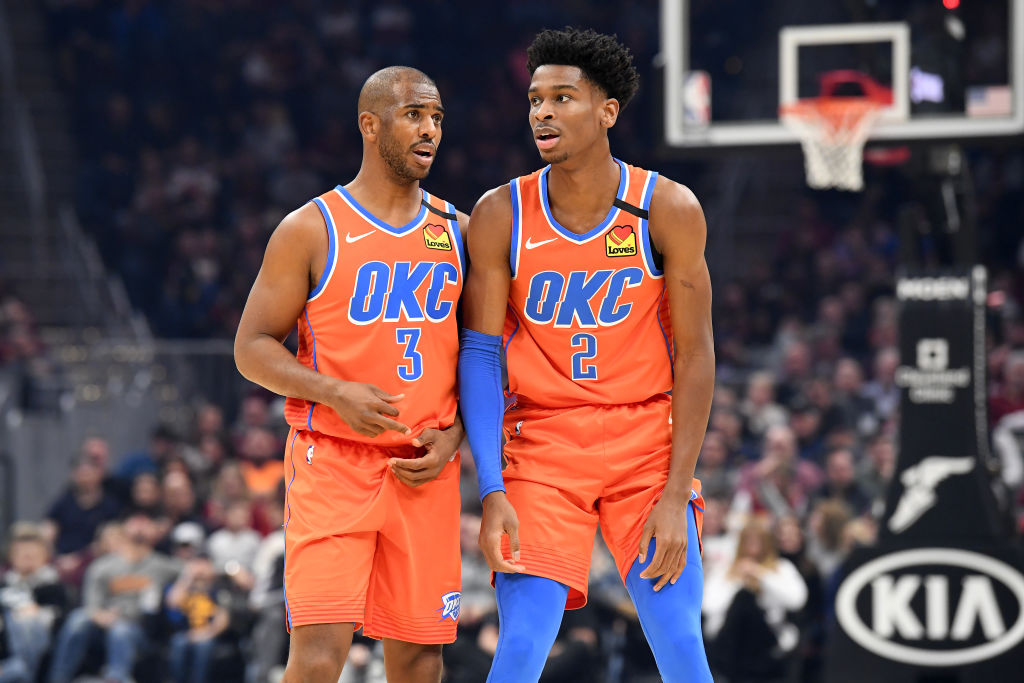 The Thunder were supposed to be tanking when they acquired Chris Paul, but instead he helped make them NBA playoff contenders.