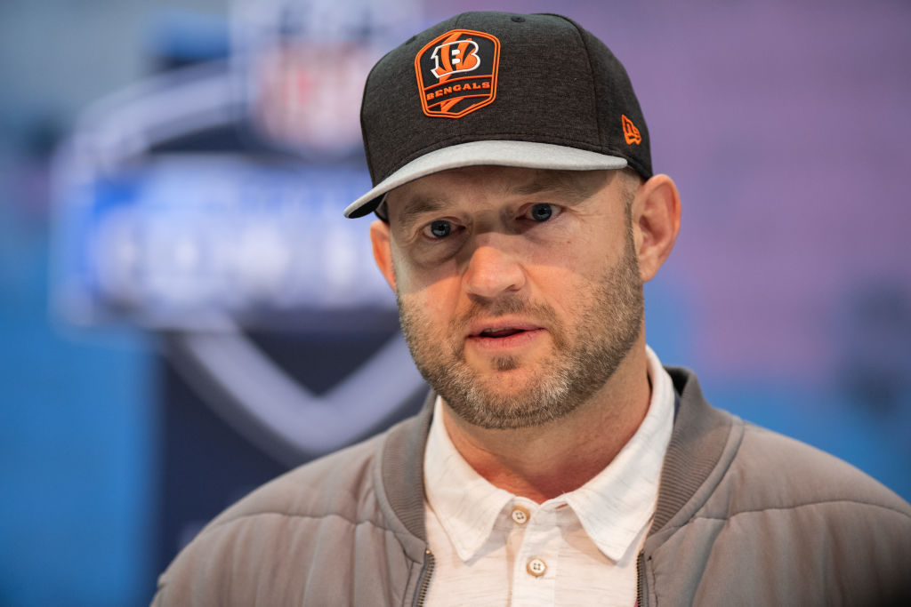 Cincinnati Bengals director of player personnel Duke Tobin won't rule out trading the first overall pick in the 2020 NFL draft.