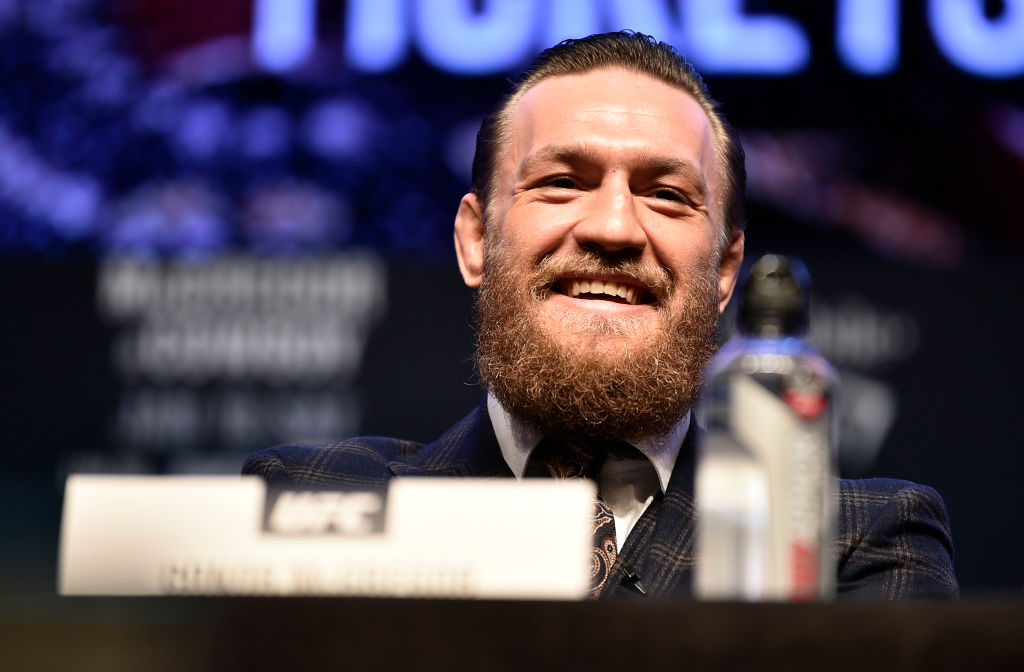 UFC MMA fighter Conor McGregor