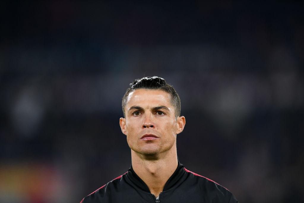Cristiano Ronaldo of Juventus during a 2020 game