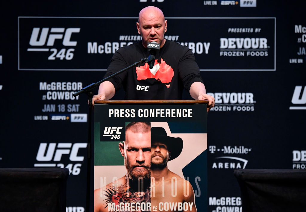Here's What Dana White Predicts Will Happen in the UFC in 2020