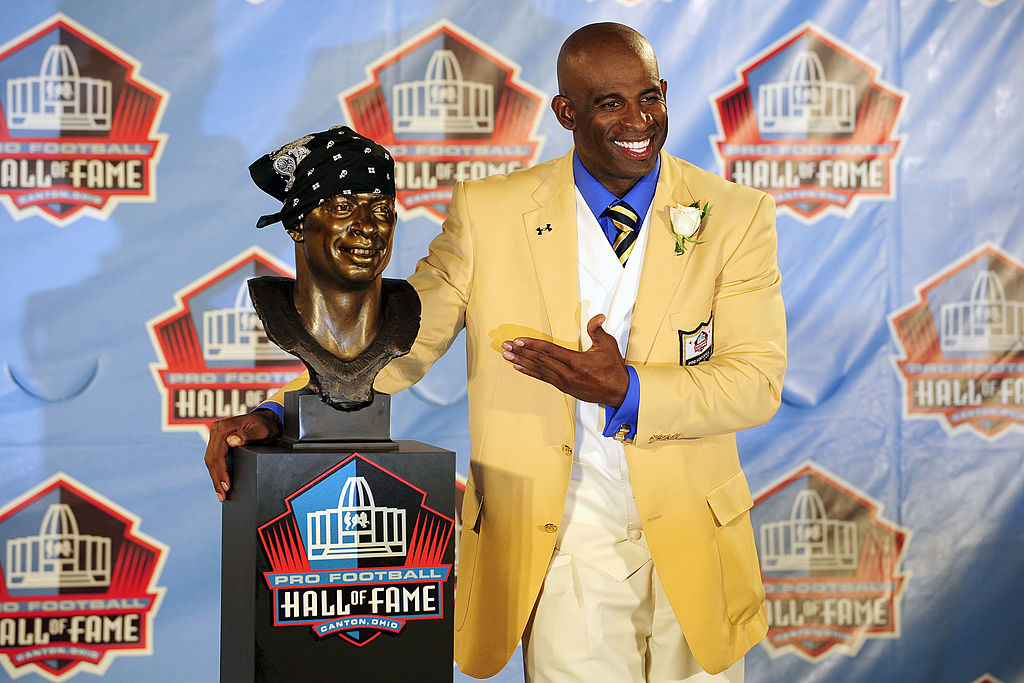 Deion Sanders is in the Hall of Fame, but now believes that too many players receiving the same honor.