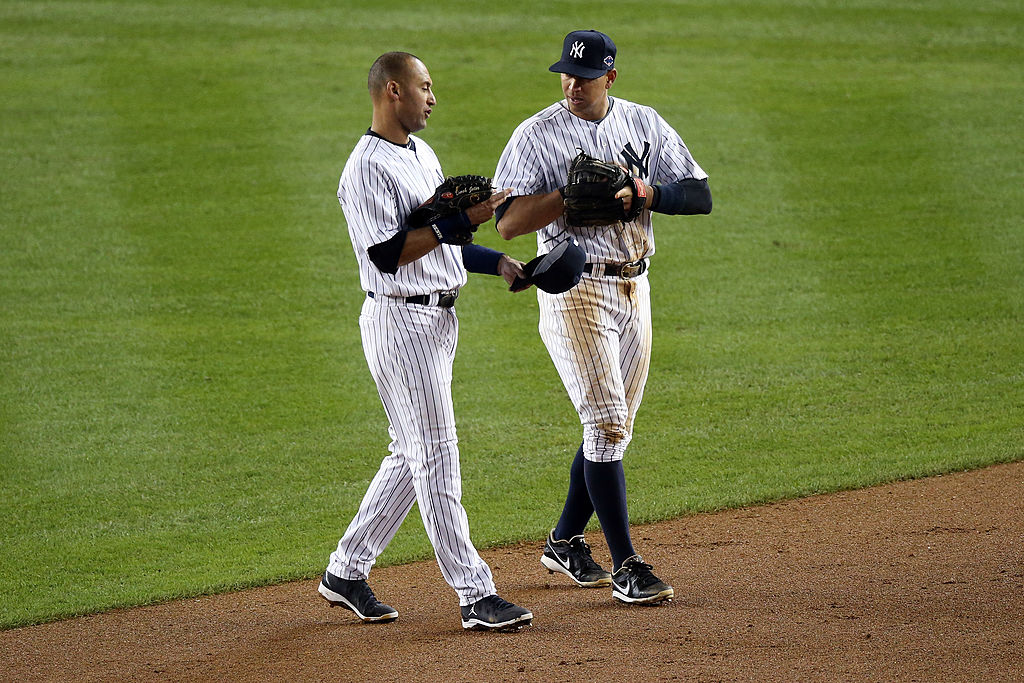 Alex Rodriguez and Derek Jeter haven't always had the best relationship.