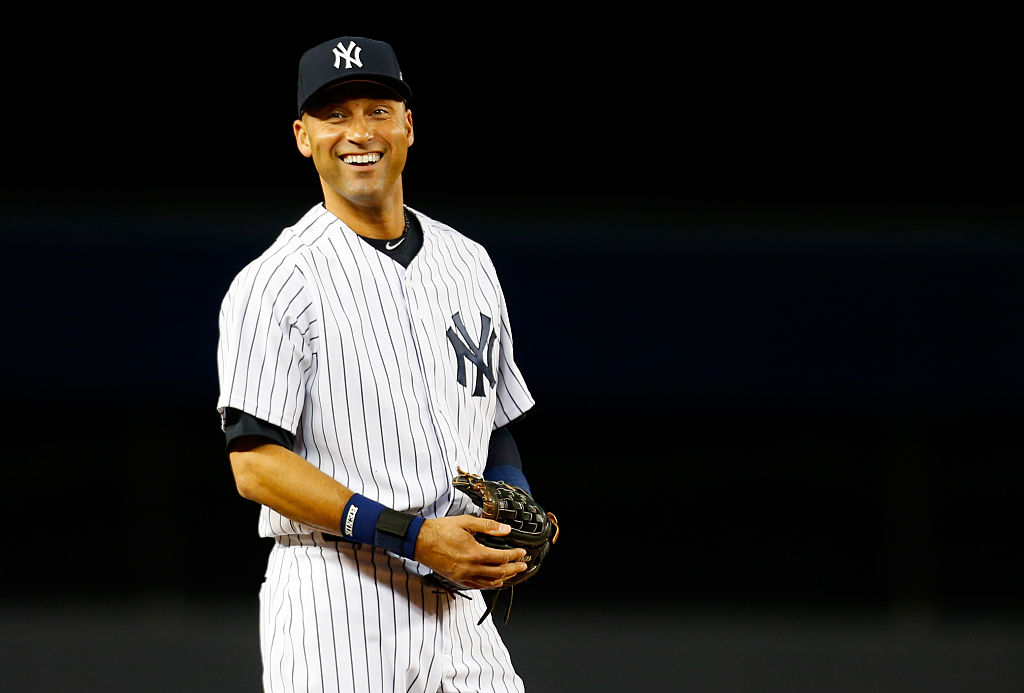 Former New York Yankees shortstop Derek Jeter