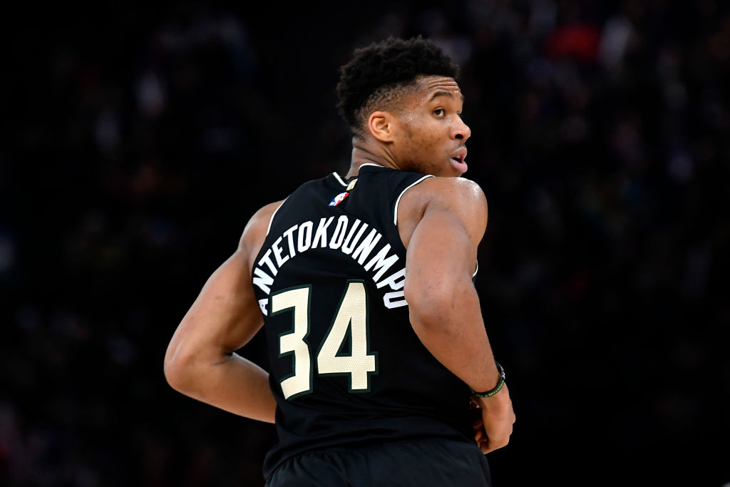 Giannis Antetokounmpo is even better in 2019-20 than he was when he won the NBA MVP award, but one stat shows the Bucks might not need him.