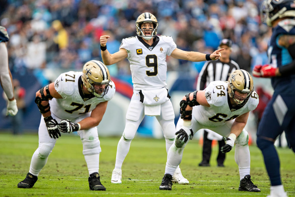 Despite his historic success, New Orleans quarterback Drew Brees didn't make the NFL 100 All-Time Team.