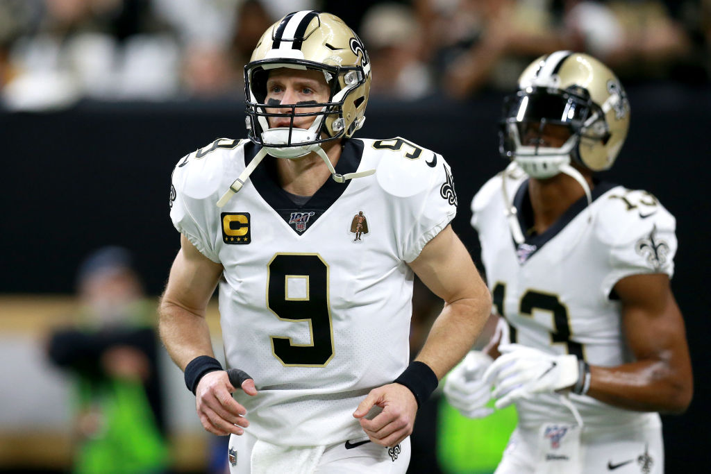 New Orleans Saints quarterback Drew Brees will hit free agency in March.