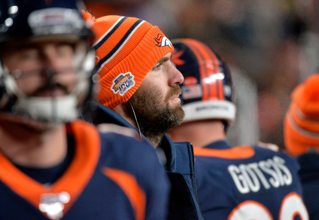 Joe Flacco's first year with the Broncos had its ups and downs, and if Denver cuts him in the offseason, it might be his only season there.