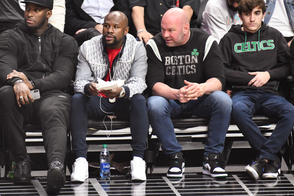 Could world champion boxer Floyd Mayweather soon start fighting in the UFC? Maybe, according to UFC president Dana White.