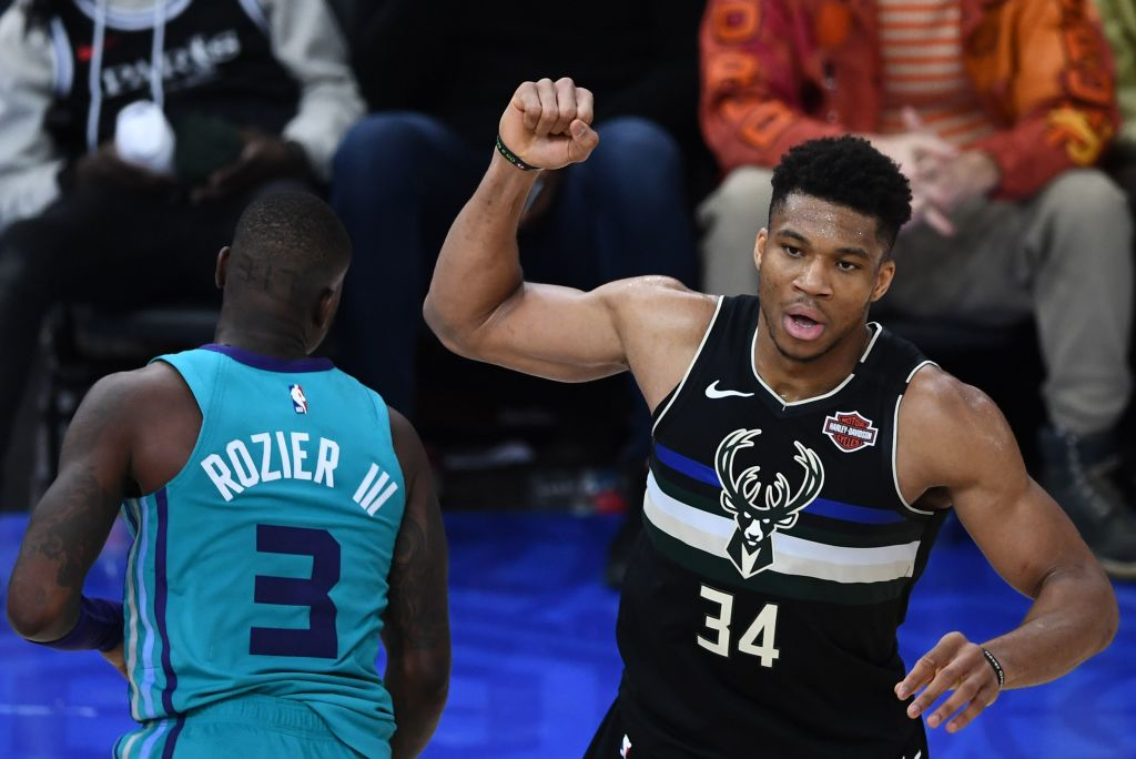 Giannis Antetokounmpo is enjoying his best season yet, but the way he's doing it is even more impressive than the stats he's putting up.