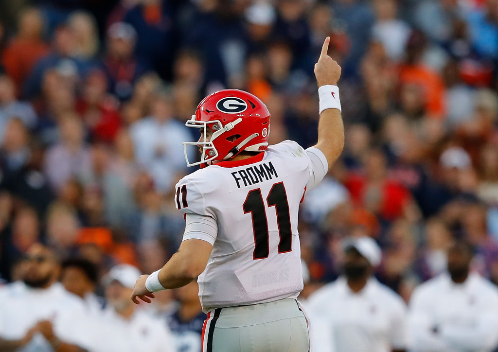 Jake Fromm might not be the most high-profile quarterback prospect in the 2020 NFL draft, but he might secretly be the best.