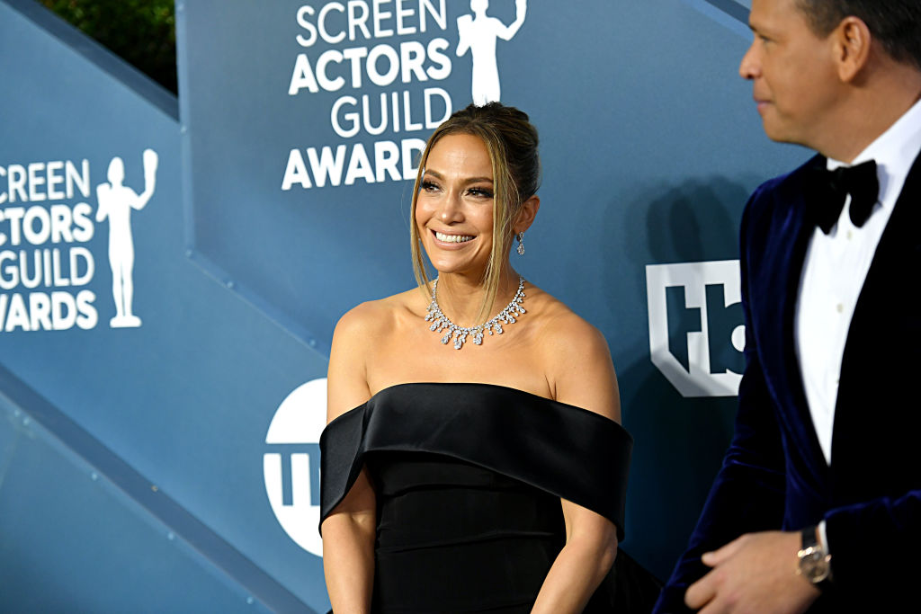 Jennifer Lopez attends the 26th Annual Screen Actors Guild Awards