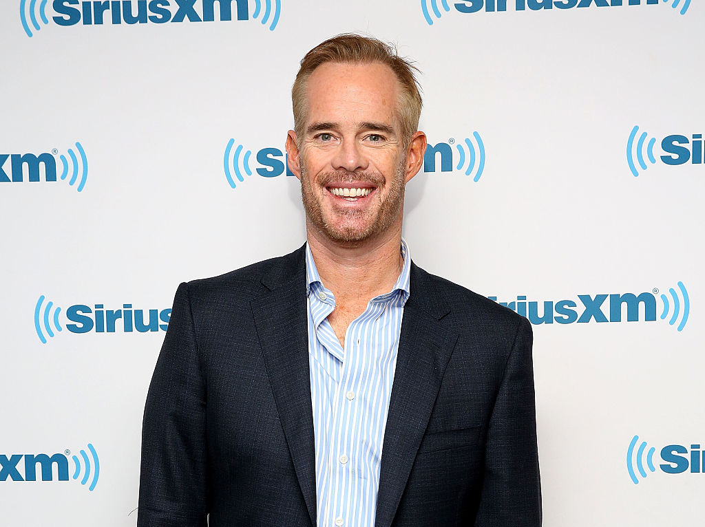 Joe Buck visits at SiriusXM Studio in 2016