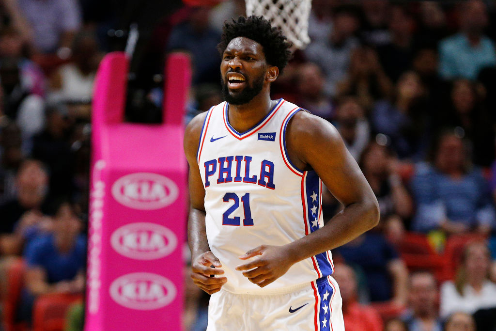 Joel Embiid will be getting a signature sneaker from Under Armour this year.