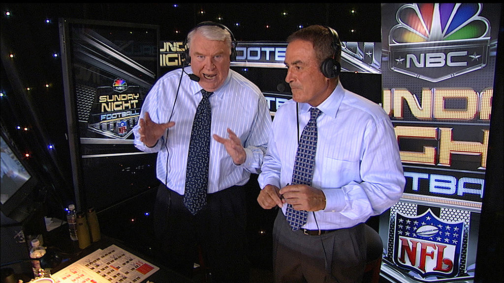 John Madden was a stellar NFl coach and an ace football broadcaster who broke the mold with his telestrator use.
