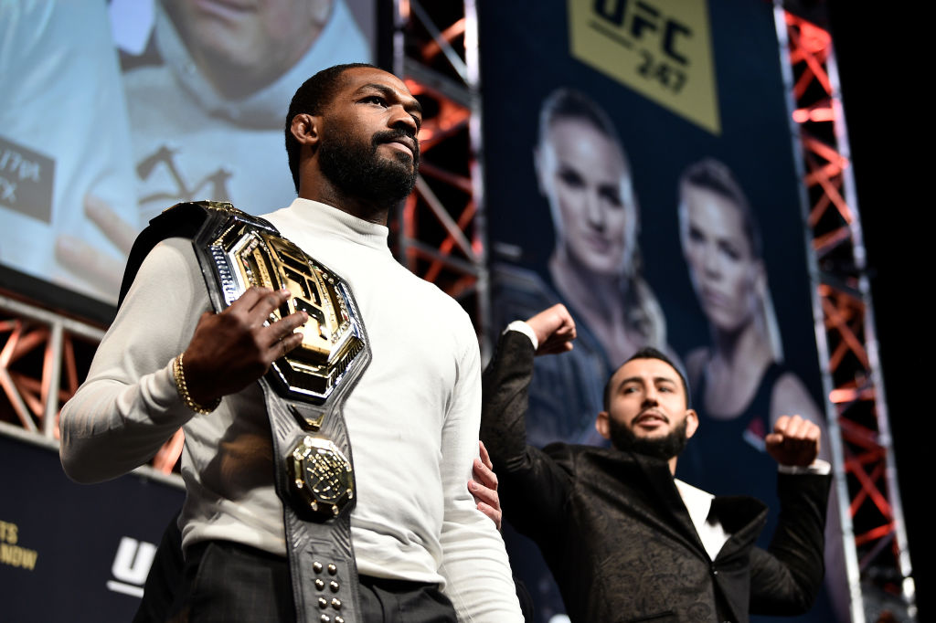 Jon Jones is one of the toughest UFC fighters inside the octagon, and a gentle giant outside of it.