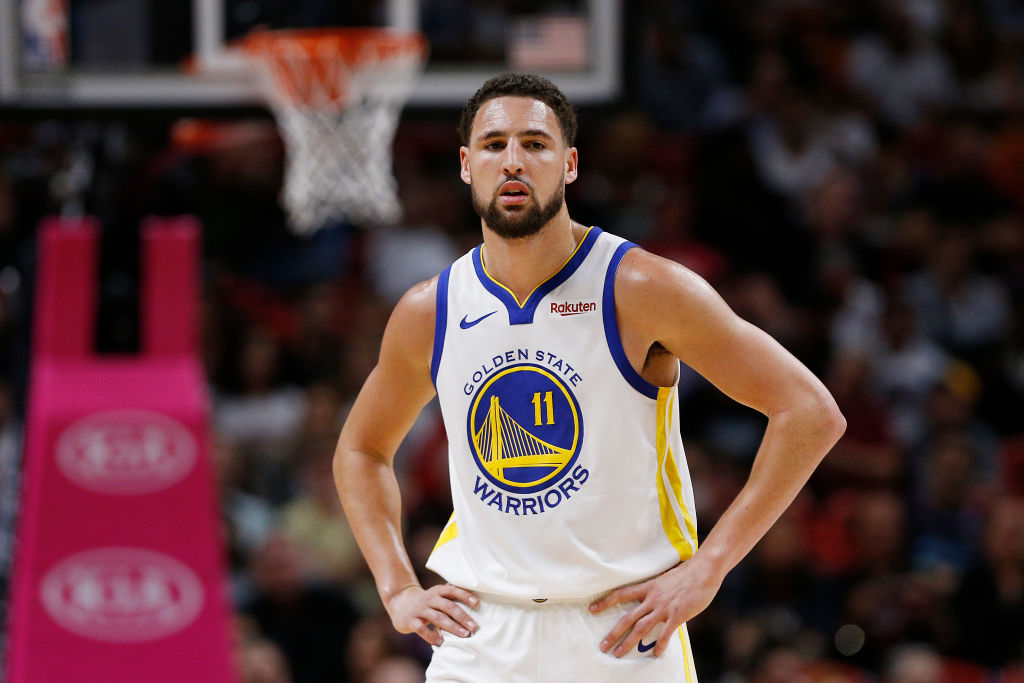 Warriors guard Klay Thompson