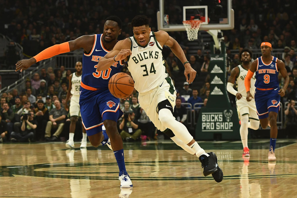 Just like every other NBA team, the Knicks hope to add Giannis Antetokounmpo to their roster, but there's one reason they have no chance.