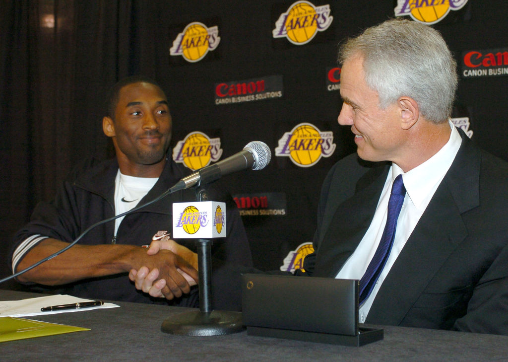 Former Lakers star guard Kobe Bryant