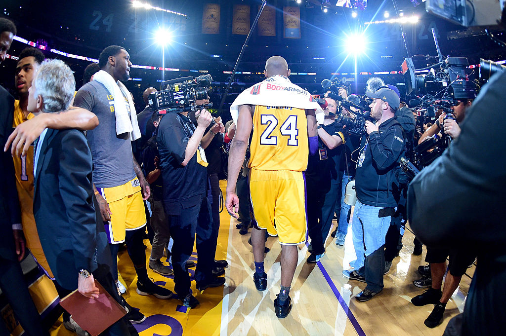 Los Angeles Lakers legend Kobe Bryant tragically died on Sunday.