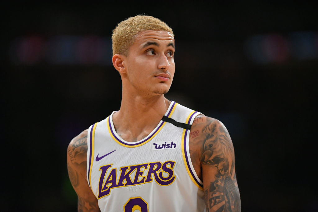 Forward Kyle Kuzma is part of a thriving Los Angeles Lakers team.