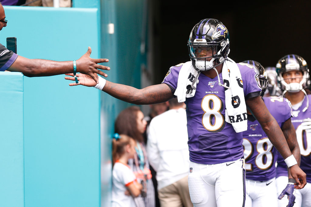 Lamar Jackson helped the Ravens on the field this season, and he's helping Baltimore schoolchildren learn math off the field.