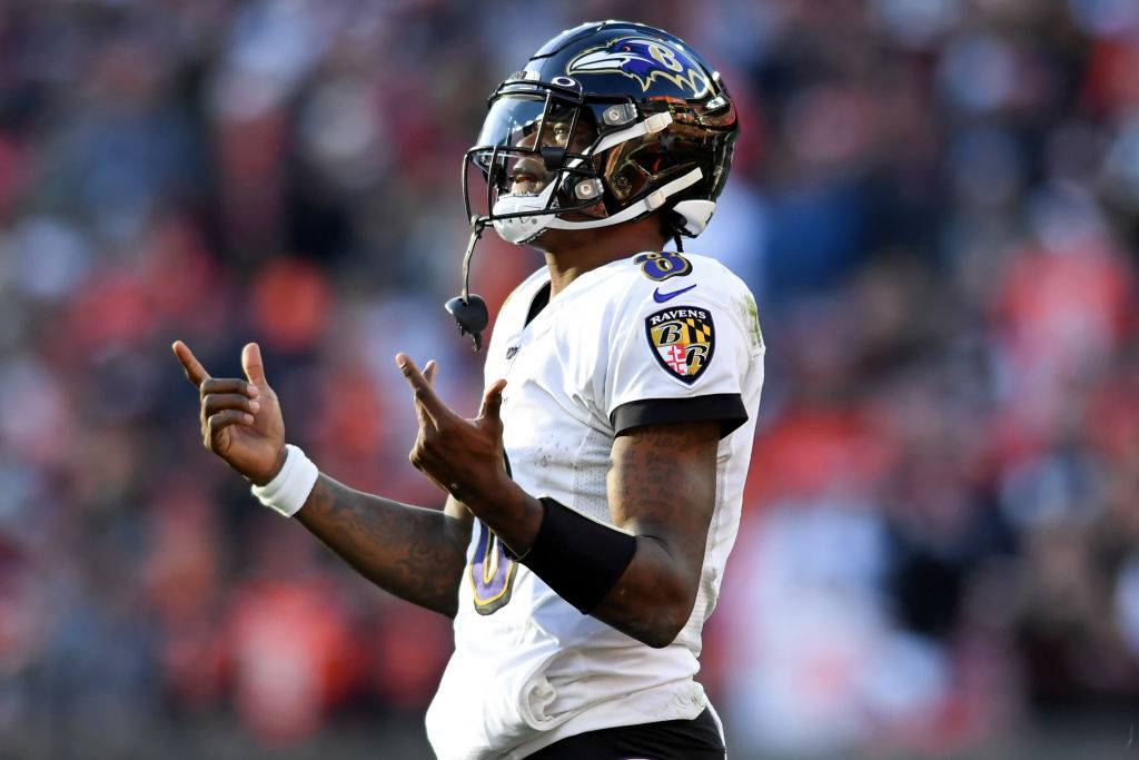 The Ravens' O-line paved the way for an MVP-type season for QB Lamar Jackson, and he thanked them for their efforts with a lavish gift.