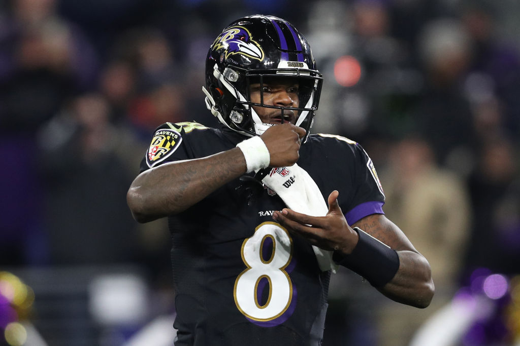 Ravens' QB Lamar Jackson is an NFL superstar and MVP frontrunner, but he says another player is the heart and soul of the team.