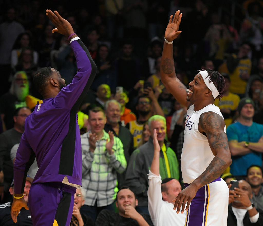The 2019-20 Lakers have top-notch nicknames thanks to the efforts of star veterans LeBron James and Dwight Howard.