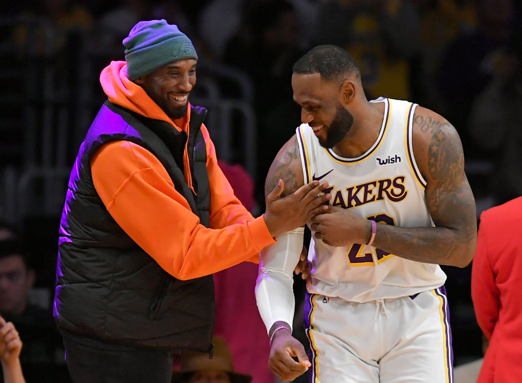 Kobe Bryant Shared an Emotional Special Message With LeBron James After Latest Career Milestone