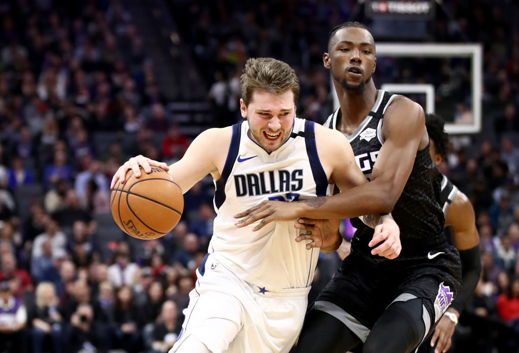Dallas Mavericks guard Luka Doncic can't stop dropping historic triple doubles.