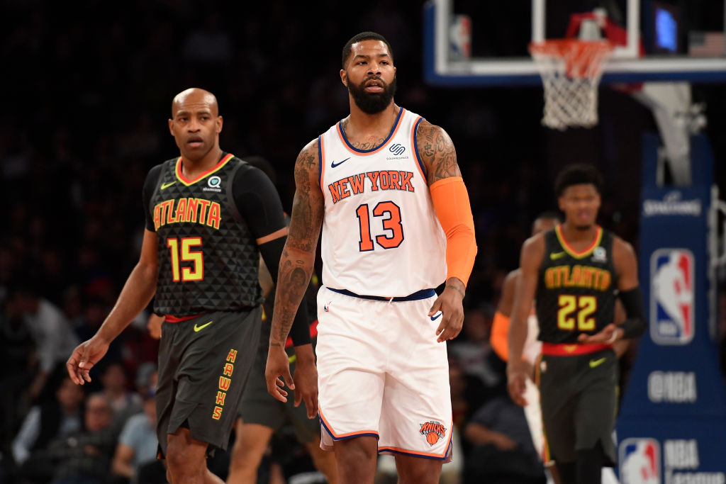 After an embarrassing loss to the Memphis Grizzlies, New York Knicks forward Marcus Morris Sr. brought gender into the argument.
