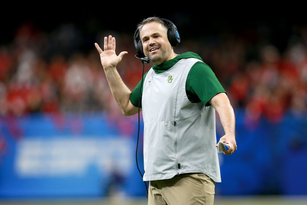 Who is Matt Rhule and how much are the Carolina Panthers paying him?